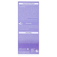 WELEDA Lavendel entspannendes Pflege-Öl 100 Milliliter - Rückseite