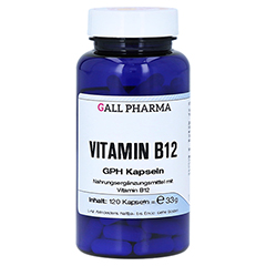 VITAMIN B12 GPH 3 µg Kapseln 120 Stück