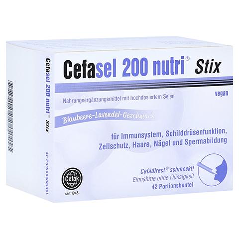 CEFASEL 200 nutri Stix Granulat 42 Stück