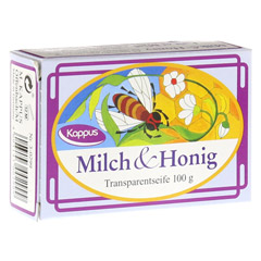 KAPPUS Milch und Honig Transp.Seife 100 Gramm