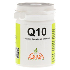COENZYM Q10 m.Vitamin E Kapseln 60 Stück