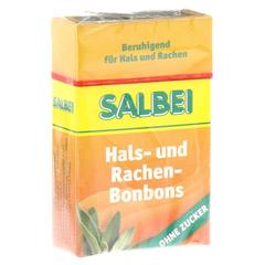 SALBEI HALS und Hustenbonbons o.Zucker 40 Gramm