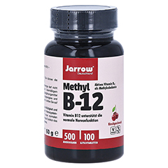 METHYL B-12 500 µg Jarrow Lutschtabletten 100 Stück