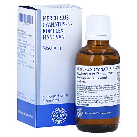MERCURIUS CYANATUS N KOMPLEX Hanosan flüssig 50 Milliliter N1