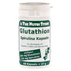 GLUTATHION 200 mg+Spirulina Kapseln 60 Stück