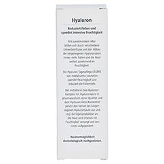 HYALURON Tagespflege Creme 50 Milliliter - Rückseite
