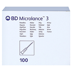 BD MICROLANCE Kanüle 27 G 3/4 0,4x19 mm 100 Stück - Vorderseite