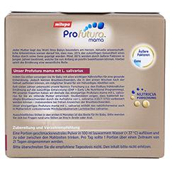 MILUPA PROFUTURA Mama Probiotikum f.Stillende Plv. 21 Gramm - Rückseite