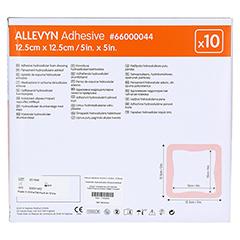 ALLEVYN Adhesive 12,5x12,5 cm haftende Wundauflage 10 Stück - Rückseite