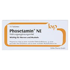 PHOSETAMIN NE Tabletten 10 Stück - Vorderseite