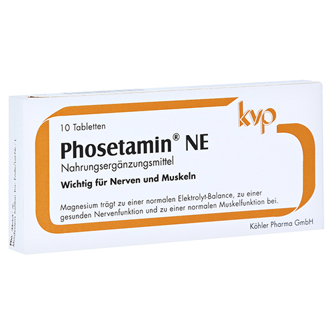 PHOSETAMIN NE Tabletten 10 Stück