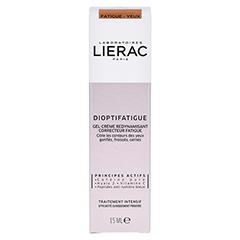 LIERAC Dioptifatigue Müde Gel-Creme 15 Milliliter - Rückseite