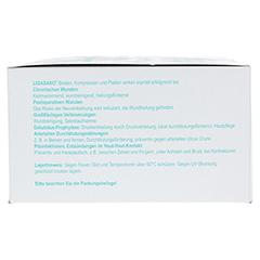 LIGASANO weiß Verband 0,5x10x15 cm steril 30 Stück - Rückseite