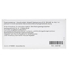 EPIPHYSIS GL D 8 Ampullen 10x1 Milliliter N1 - Rückseite