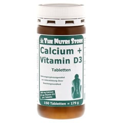 CALCIUM D3 400 mg/100 I.E. Tabletten 150 Stück