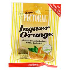 Pectoral Ingwer Orange Bonbons zuckerfrei 60 Gramm