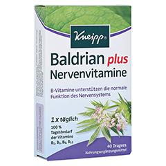 KNEIPP Baldrian plus Nervenvitamine Dragees 40 Stück