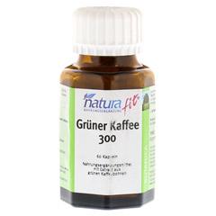 NATURAFIT grüner Kaffee 300 Extrakt Kapseln 60 Stück