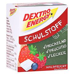 DEXTRO ENERGY Schulstoff Waldfrucht Täfelchen 50 Gramm