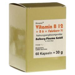 Vitamin B12 + B6 + Folsäure Komplex N Kapseln 60 Stück