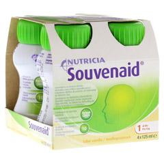 SOUVENAID Vanillegeschmack 4x125 Milliliter