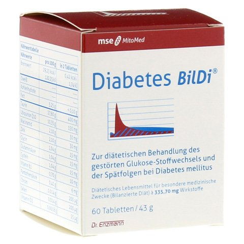 DIABETES BilDi Tabletten 60 Stück