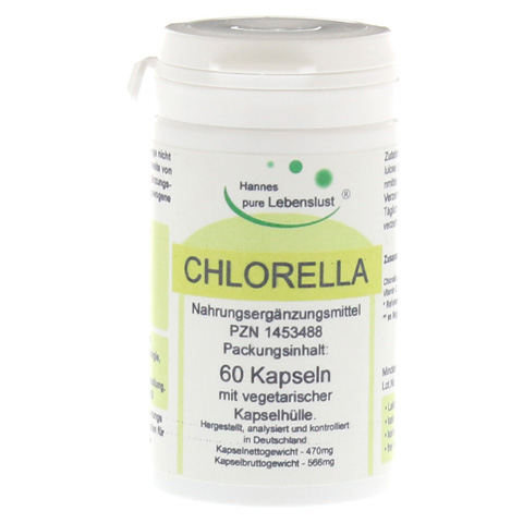 CHLORELLA VEGI Kaps 500 mg 60 Stück