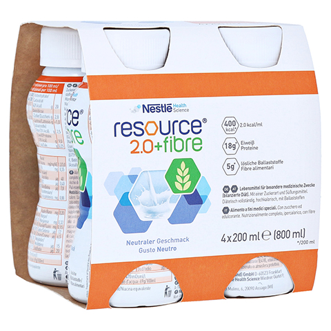 RESOURCE 2.0 fibre Neutral 4x200 Milliliter
