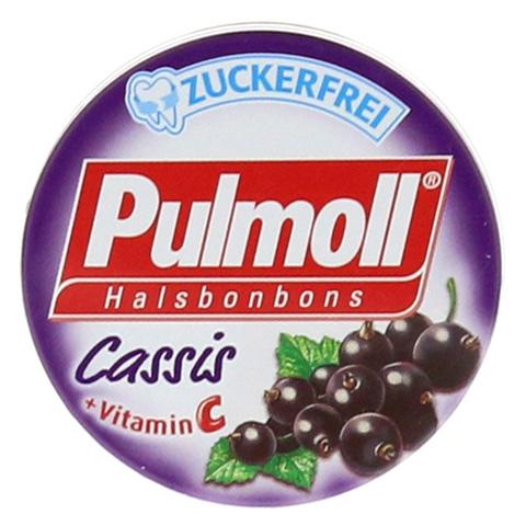 PULMOLL Cassis zuckerfrei Minidose Bonbons 20 Gramm