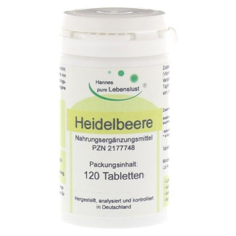 HEIDELBEER TABLETTEN 120 Stück