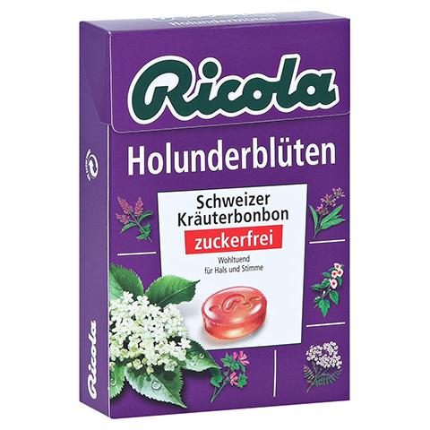 Ricola o.Z. Box Holunderblüten Bonbons 50 Gramm