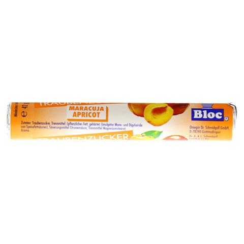 BLOC Traubenzucker Maracuja-Apricot Rolle 1 Stück