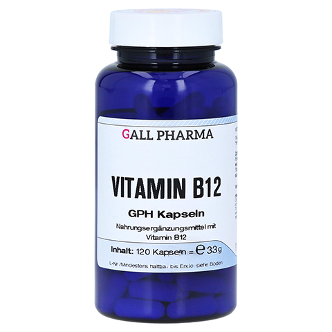 VITAMIN B12 GPH Kapseln 120 Stück
