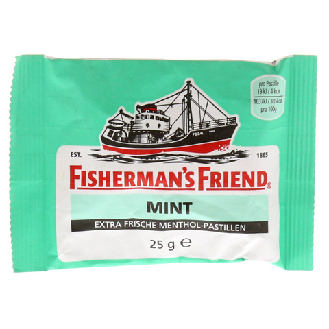 FISHERMANS FRIEND mint Pastillen 25 Gramm