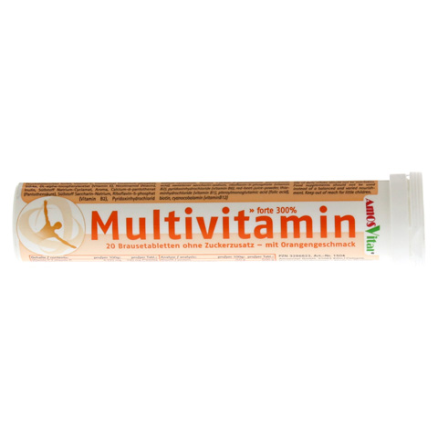 MULTIVITAMIN BRAUSE Soma Tabletten 20 Stück