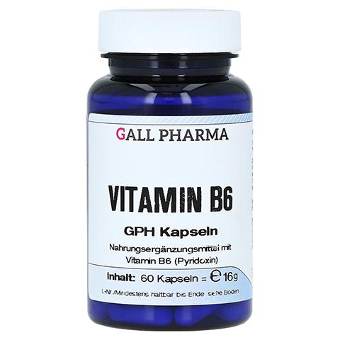 VITAMIN B6 GPH 2,0 mg Kapseln 60 Stück