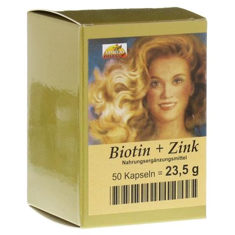 BIOTIN PLUS Zink Haarkapseln 50 Stück
