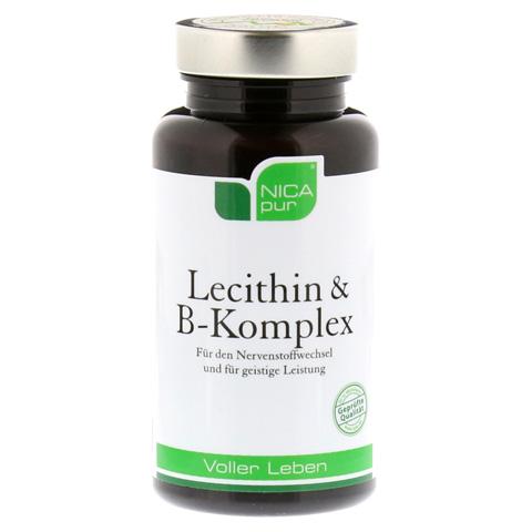 NICAPUR Lecithin B Komplex Kapseln 60 Stück