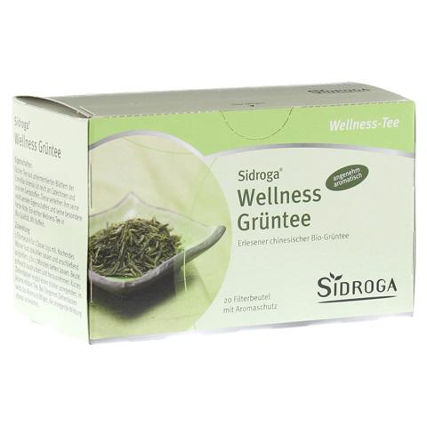 SIDROGA Wellness Grüntee Filterbeutel 20x1.7 Gramm