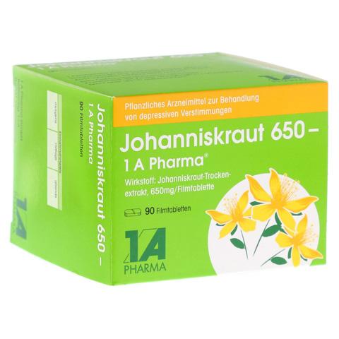 JOHANNISKRAUT 650-1A Pharma Filmtabletten 90 Stück