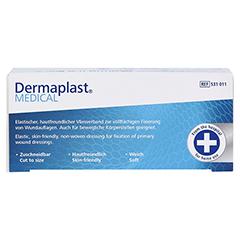 DERMAPLAST MEDICAL Fixierverband elast.10 cmx2 m 1 Stück - Unterseite