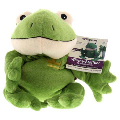 WÄRME STOFFTIER Frosch Willi grün 1 Stück