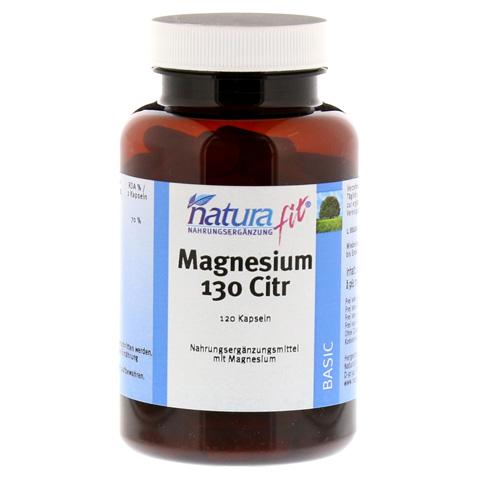 NATURAFIT Magnesium 130 Citr Kapseln 120 Stück