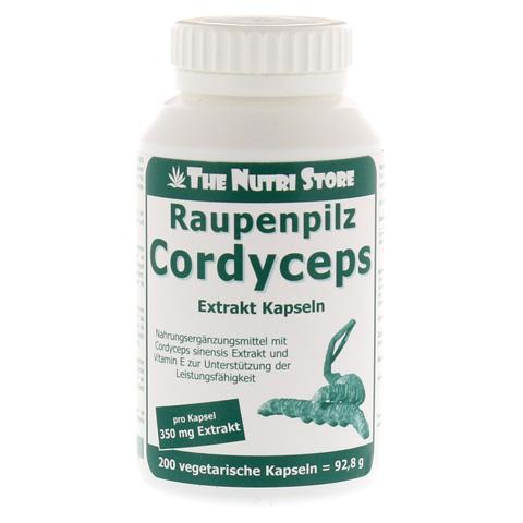 CORDYCEPS 350 mg Extrakt Kapseln 200 Stück