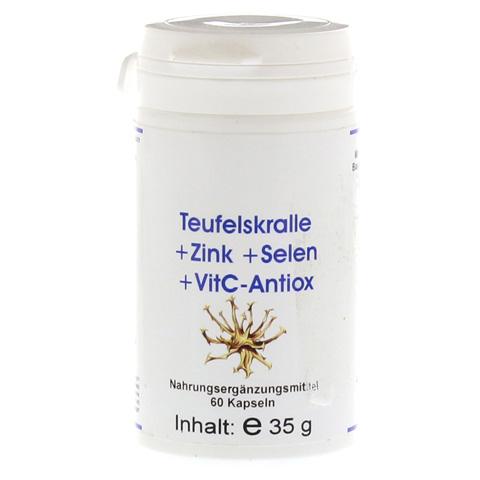 TEUFELSKRALLE+ZINK+Selen+Vit C-Antiox Kapseln 60 Stück