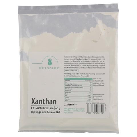 XANTHAN LM Qualität Pulver 60 Gramm