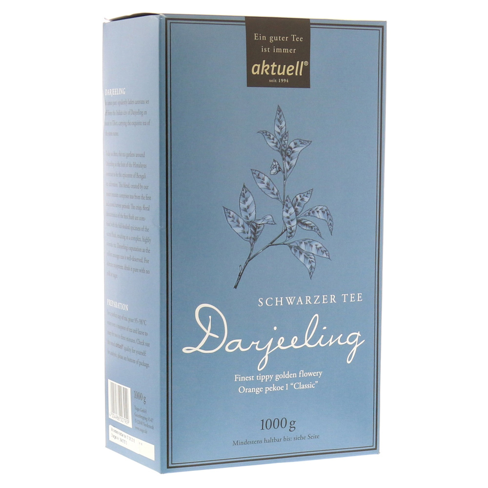 lecker zum fr hst ck schwarztee aktuell darjeeling 1 kilogramm erfahrung medpex versandapotheke. Black Bedroom Furniture Sets. Home Design Ideas