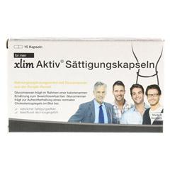 XLIM Aktiv Sättigungskapseln for men 15 Stück - Vorderseite