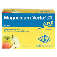 MAGNESIUM VERLA 300 Apfel Granulat 50 Stück - Vorderseite