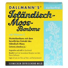 DALLMANN'S Isländisch Moos-Bonbons zuckerfrei 20 Stück - Vorderseite